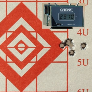 5-shot, 1/2 MOA grouping, 125gr PlainsMaster Bullets, 6.5 Creedmoor, 100 yards