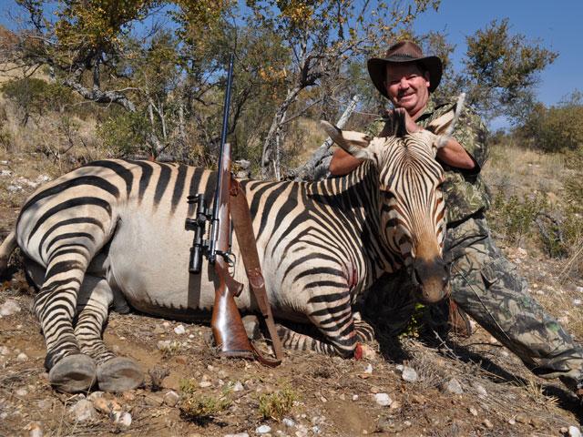 Hartmann Zebra, 378 Wby, 236 gr PlainsMaster, 360 yards, broadside shot.