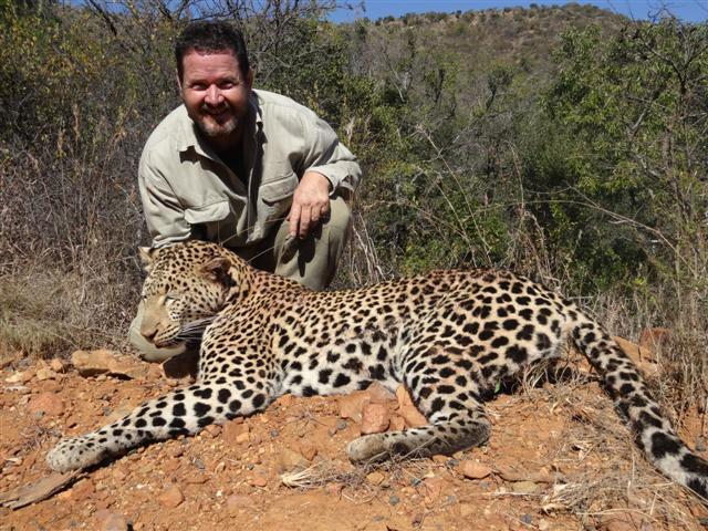 Leopard, 375H&H, 300gr BushMaster.