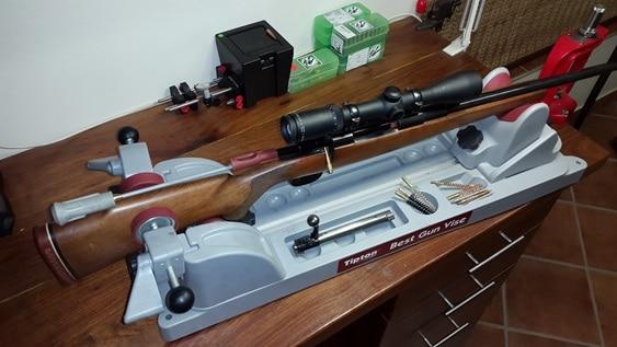 barrel cleaning tools gun cradle